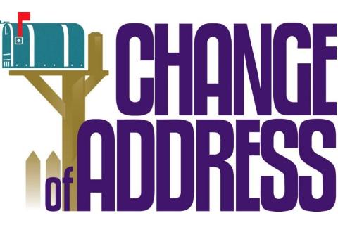 Change of Registered Address